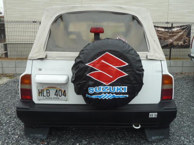 北米 US スズキ SUZUKI OEM スペアタイヤカバー エスクード サイドキック ジムニー サムライ 15インチ USDM HDM 多少の外径サイズ前後OK