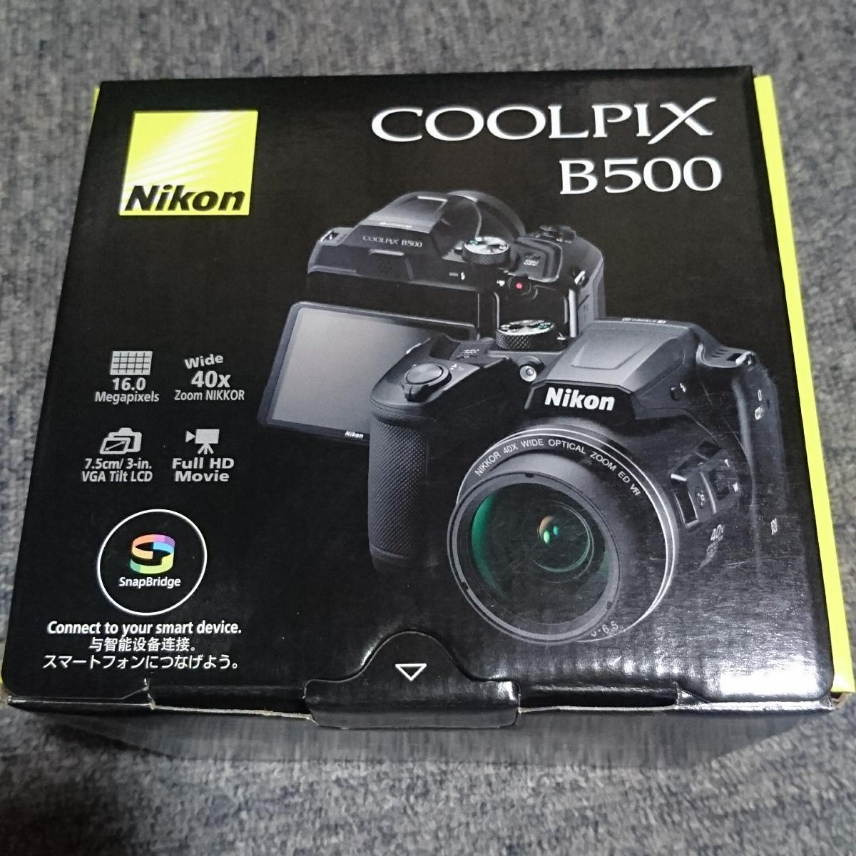 ★ニコンNikon★クールピクス COOLPIX★B500★新品