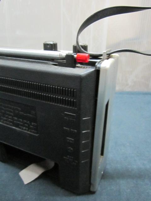 SONY ソニー ICF-5200 ソリッド ステート NEW action FM/AM ラジオ_画像8