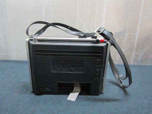 SONY ソニー ICF-5200 ソリッド ステート NEW action FM/AM ラジオ_画像9