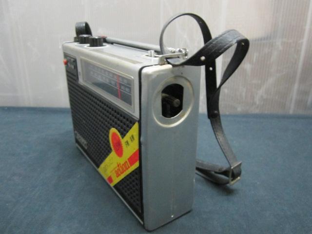 SONY ソニー ICF-5200 ソリッド ステート NEW action FM/AM ラジオ_画像7