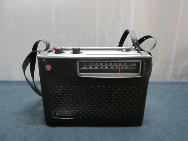 SONY ソニー ICF-5200 ソリッド ステート NEW action FM/AM ラジオ_画像4