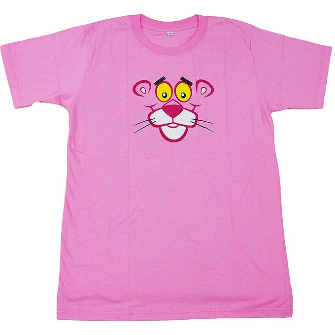 The Pink Panther ■ピンク・パンサー■ピンクの豹■オープニングアニメ■アニメキャラTシャツ■ピンクL ライブグッズの画像