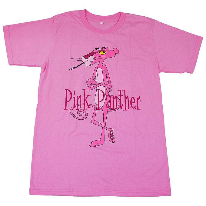The Pink Panther ■ピンク・パンサー■ピンクの豹■オープニングアニメ■アニメキャラTシャツ■ピンクM ライブグッズの画像