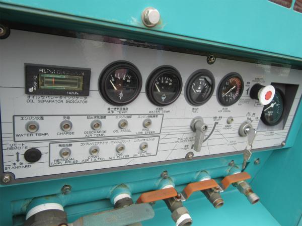 DENYO デンヨー エンジン コンプレッサー DIS-390ES ディーゼル 大型 コンプレッサ_画像5