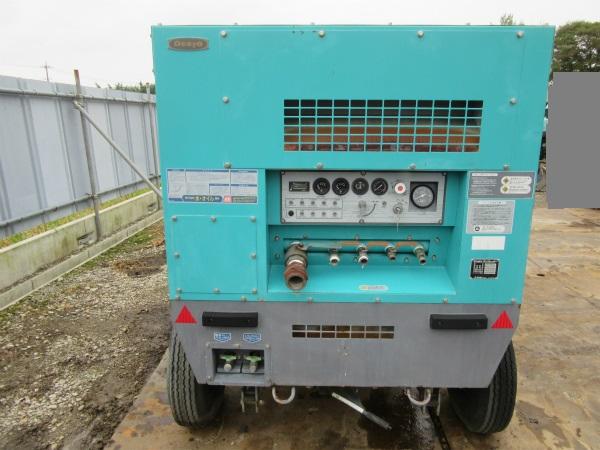 DENYO デンヨー エンジン コンプレッサー DIS-390ES ディーゼル 大型 コンプレッサ_画像4