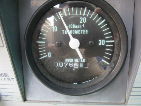 DENYO デンヨー エンジン コンプレッサー DIS-390ES ディーゼル 大型 コンプレッサ_画像8