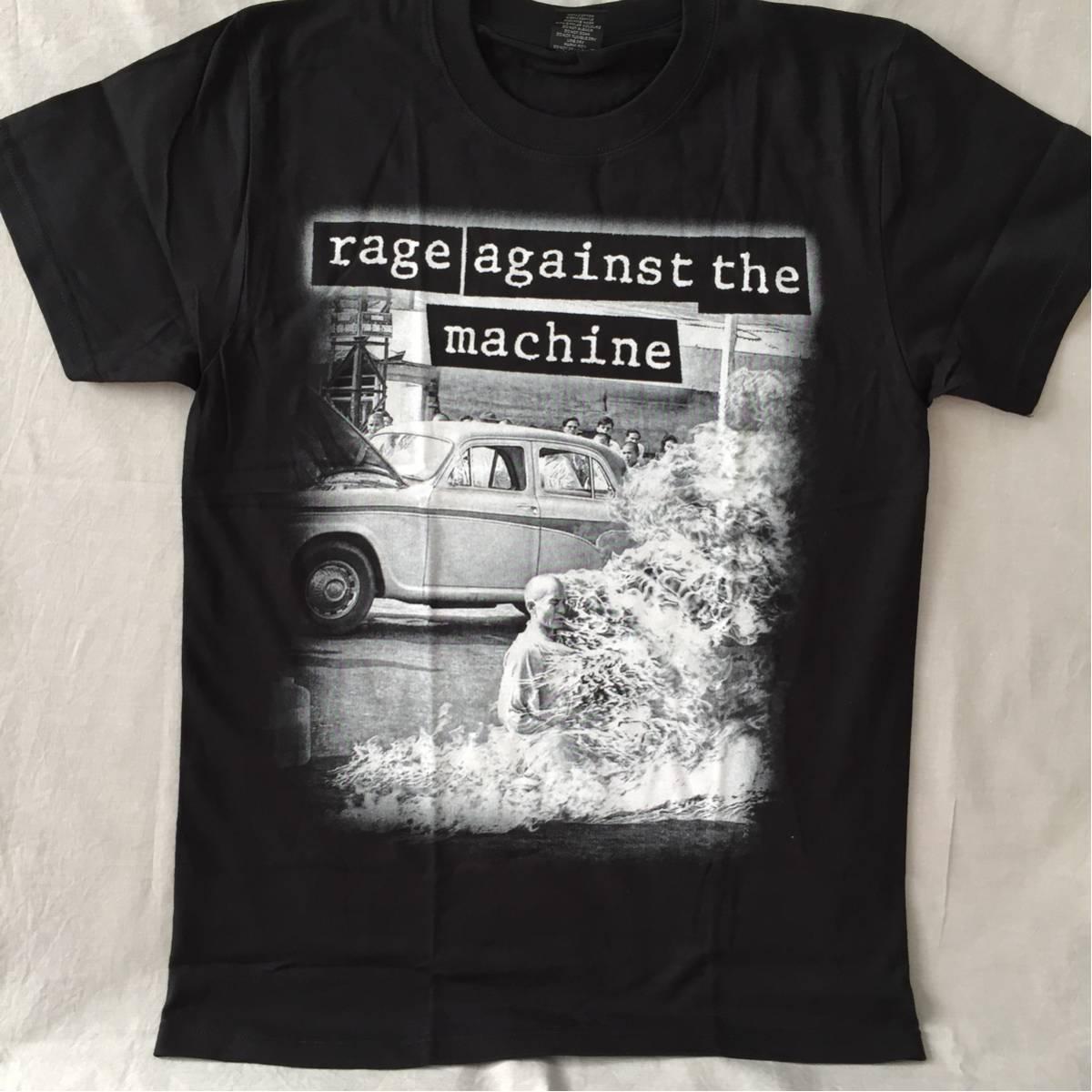 バンドTシャツ レージ(rage against the machine) 新品 M