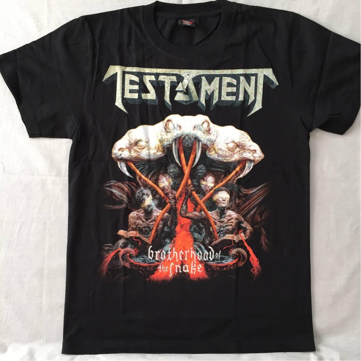 バンドTシャツ テスタメント(TESTAMENT) 新品 M