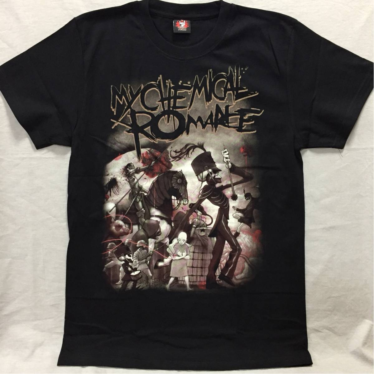 バンドTシャツ マイケミカルロマンス(MY CHEMIC AL ROMANCE) 新品L