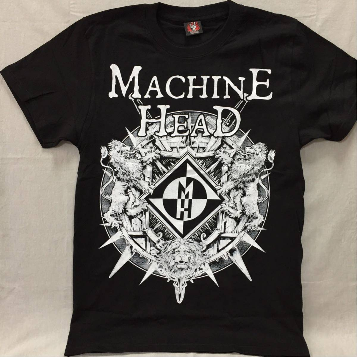 バンドTシャツ マシーンヘッド(MACHINE HEAD) 新品 M