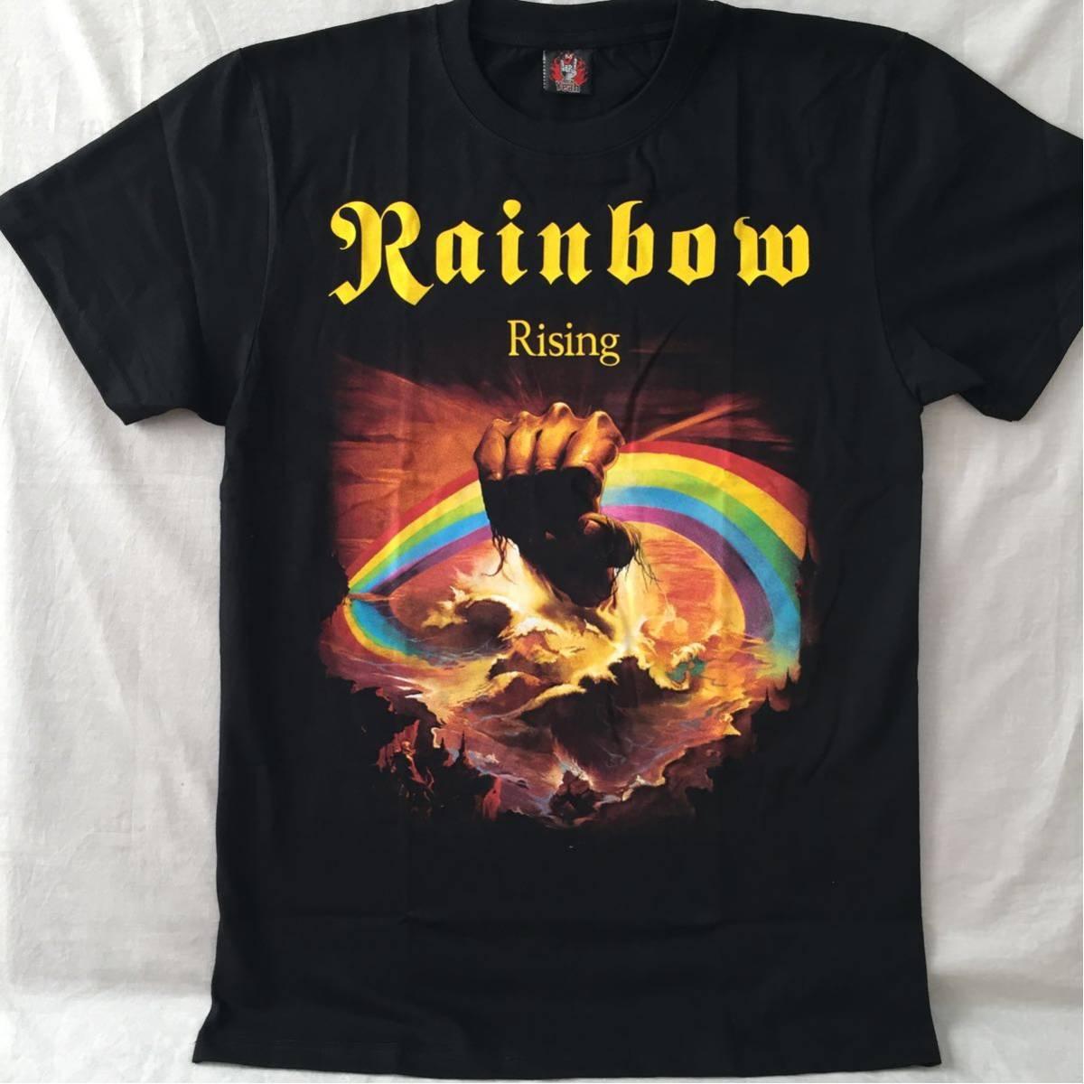 バンドTシャツ レインボー(Rainbow) 新品L