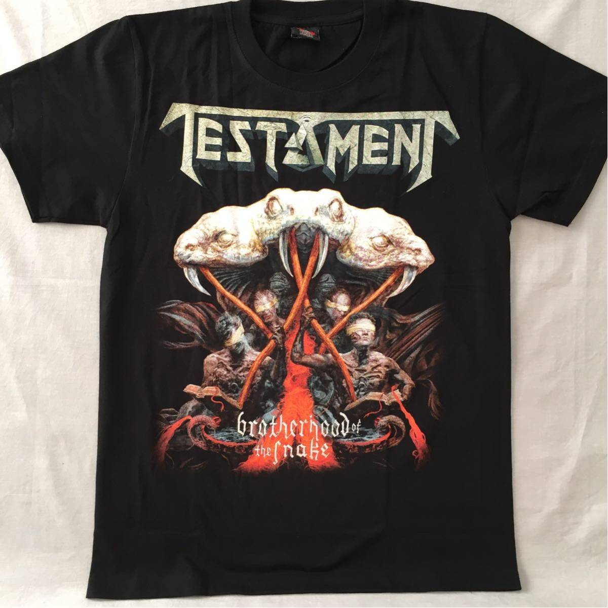 バンドTシャツ テスタメント(TESTAMENT) 新品L