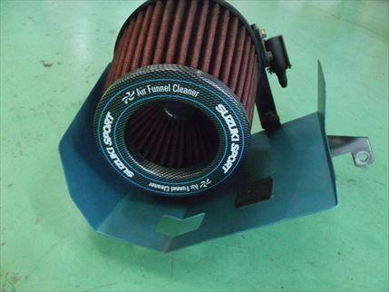 希少 スズキスポーツ エアファンネルクリーナー MF21S MRワゴンスポーツ HA22Sアルトワークス_画像3