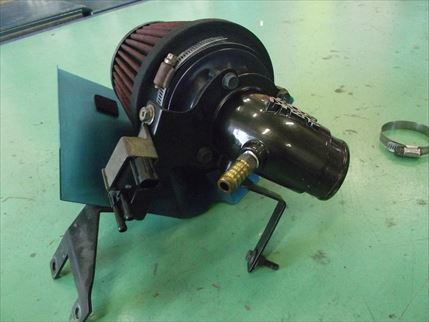 希少 スズキスポーツ エアファンネルクリーナー MF21S MRワゴンスポーツ HA22Sアルトワークス_画像4