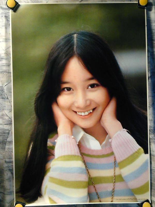 b26【大型ポスター625x925】アグネス チャン/昭和のポスター