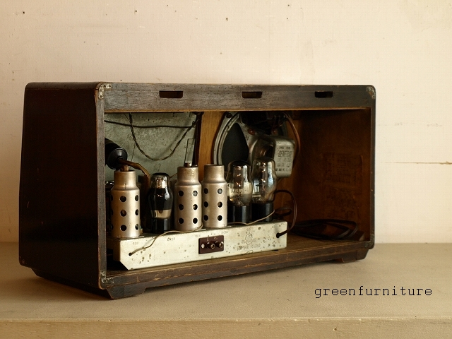 GENERAL MAGIC SUPER RADIO 真空管ラジオ 7S-2 ゼネラル 八欧無線株式会社 ジャンク 中古 古道具 レトロ アンティーク_画像3