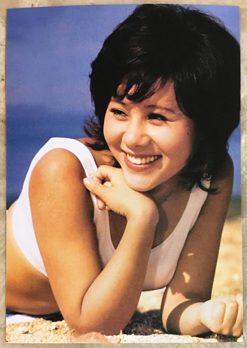 昭和 アイドル 天地真理 プロマイド 写真 L版 3枚