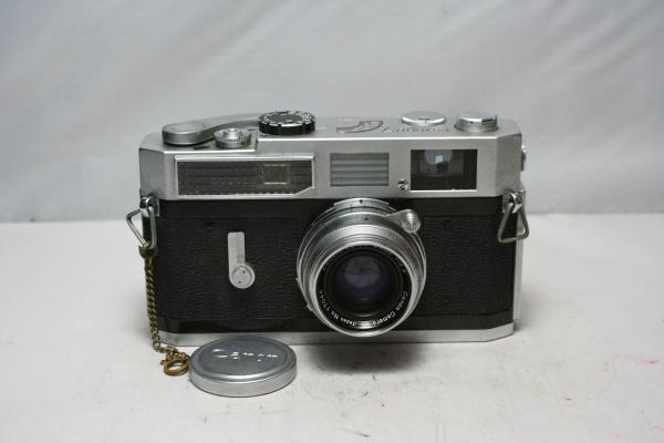 ◆1円~◆ Canon 7 MODEL F2.8 35mm レンズ付