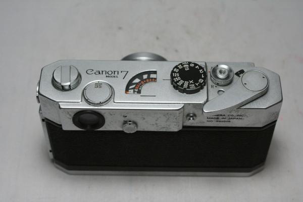 ◆1円~◆ Canon 7 MODEL F2.8 35mm レンズ付_画像3