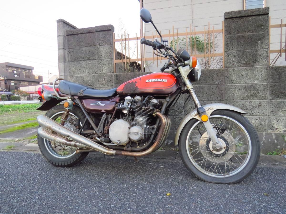 売切り! 昭和49年 Z2 検査平成31年4月 レストアベースで オリジナルパーツ多数 750RS Z