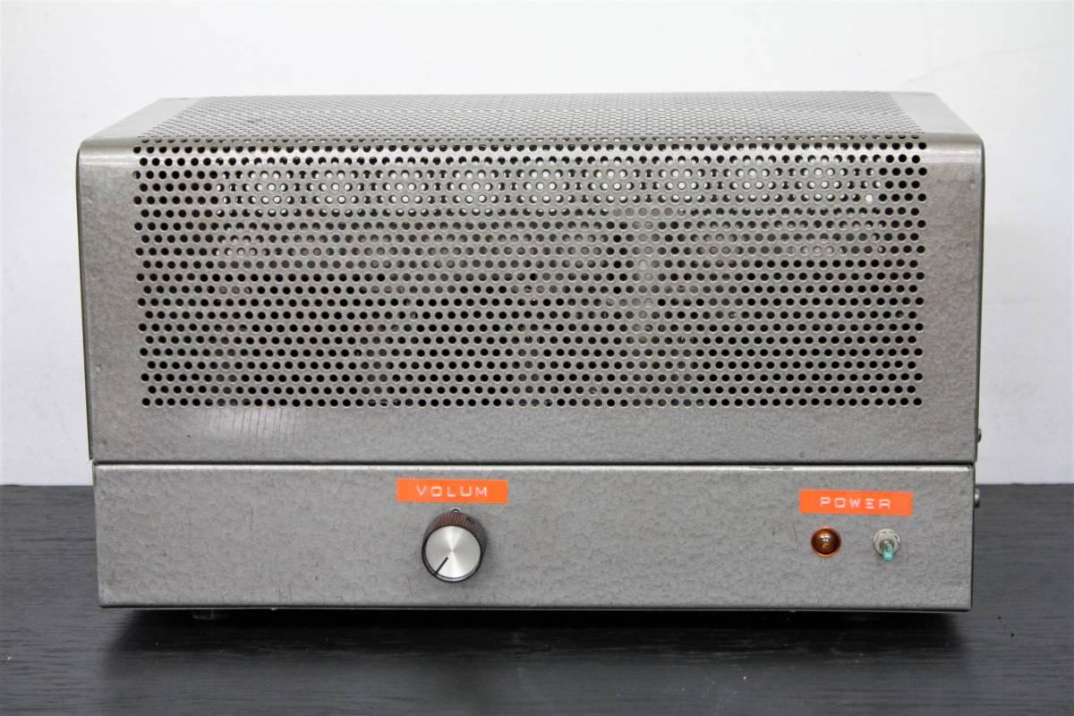 自作 6GW8PP ステレオパワーアンプ 動作ジャンク
