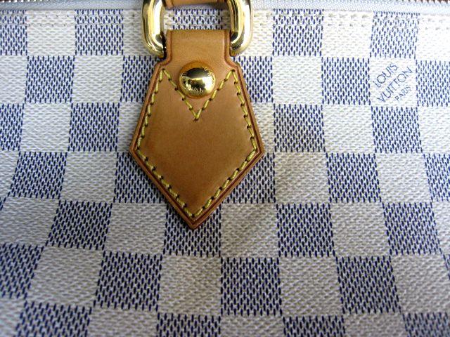 ルイ ヴィトン LOUIS VUITTON ダミエアズール ホワイト系 ハンドバッグ かばん トートバッグ 保存袋付 VI2097  001758-i02y_画像5