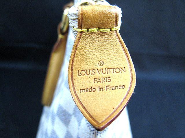 ルイ ヴィトン LOUIS VUITTON ダミエアズール ホワイト系 ハンドバッグ かばん トートバッグ 保存袋付 VI2097  001758-i02y_画像7
