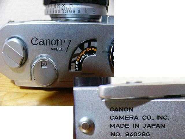 ☆Canon 7☆レンズ CANON 50㎜ 1:1.2☆ジャンク_画像10