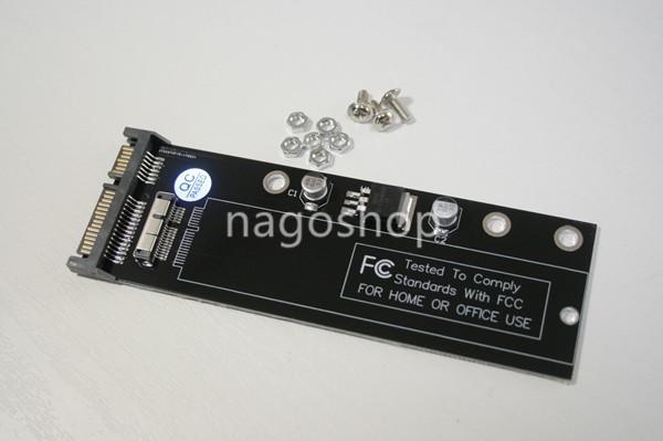 送料無料 新品 Apple LATE 2010 Mid2011 2010★2011 MacBook Air SSDを2.5SATA 変換 アダプター B
