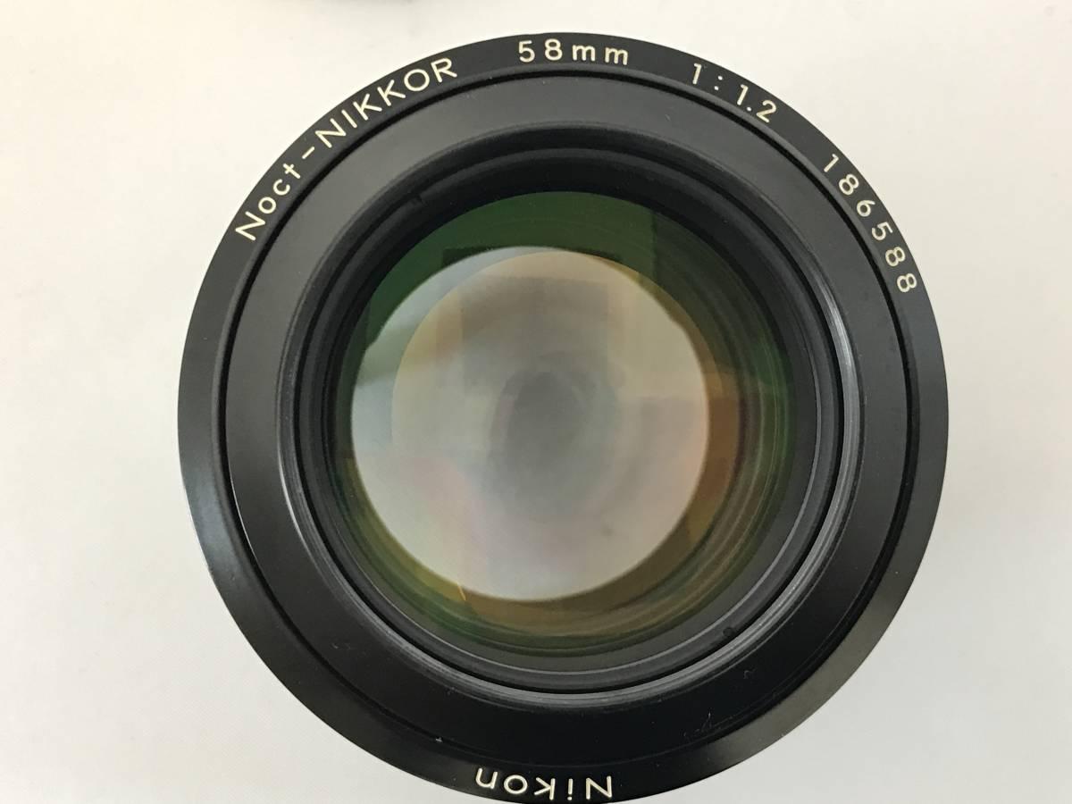ニコン Nikon Ai-S Noct-NIKKOR 58mm F1.2 レンズ