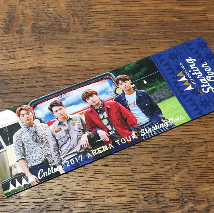 CNBLUE 12/1 横浜アリーナ チケット 1枚 ライブグッズの画像