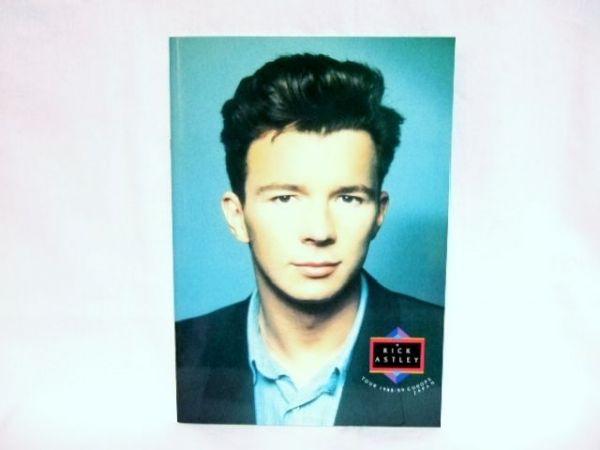 リック・アストリー(RICK ASTLEY)★ '88~89ツアーパンフレット *送料300円(ゆうメール 規定内)