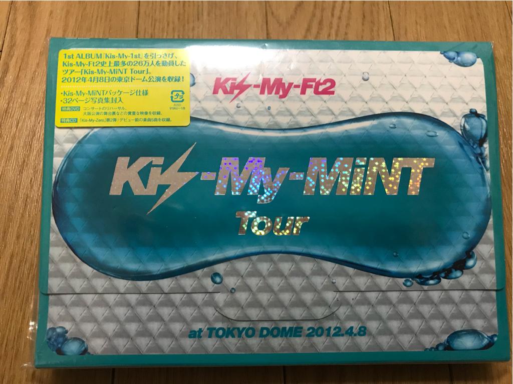 Kis-My-Ft2☆2012ツアー初回限定DVD☆特典CD付き☆美品☆未再生あり