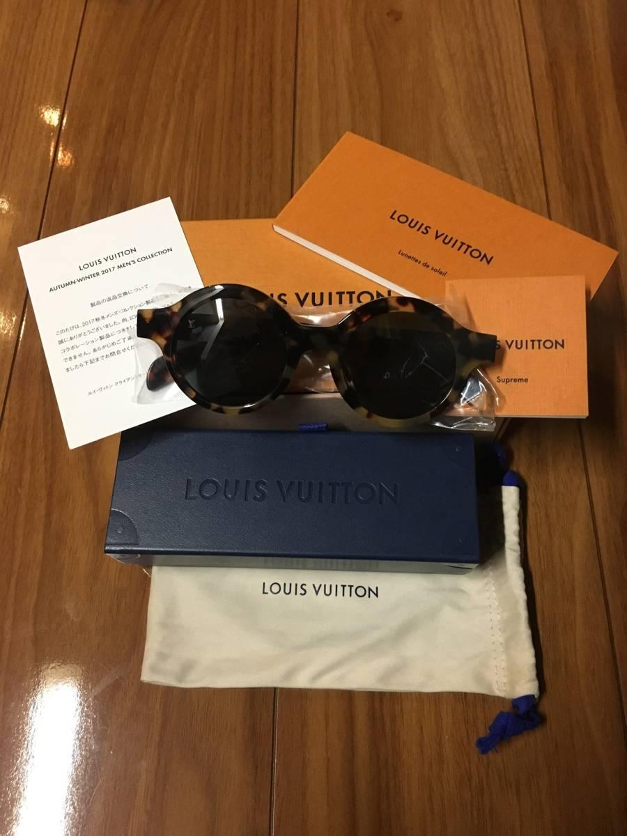 確実正規品 新品 未使用 Supreme Louis Vuitton シュプリーム コラボ サングラス