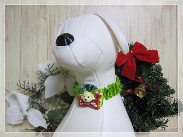 ★送料無料★ Mサイズ *テディベアプードル*クリスマスシュシュネックレス【スリムタイプ】5本セット #犬 #トリミング #ネックレス M2_画像6