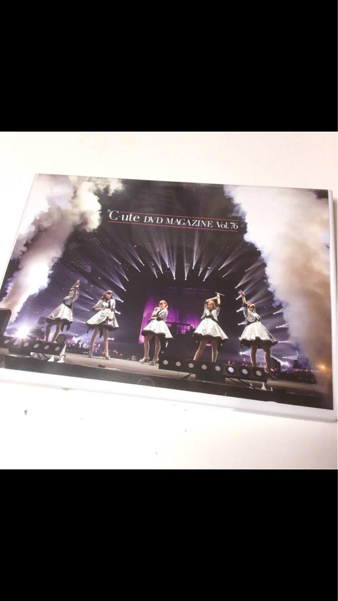 ℃-ute DVD「DVD MAGAZINE vol.76」 ライブグッズの画像