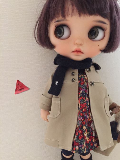*Blythe outfit・パペット・洋服set ♪*