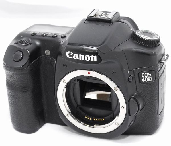 【良品】Canon キヤノン EOS 40D 動作未確認 ジャンク扱い