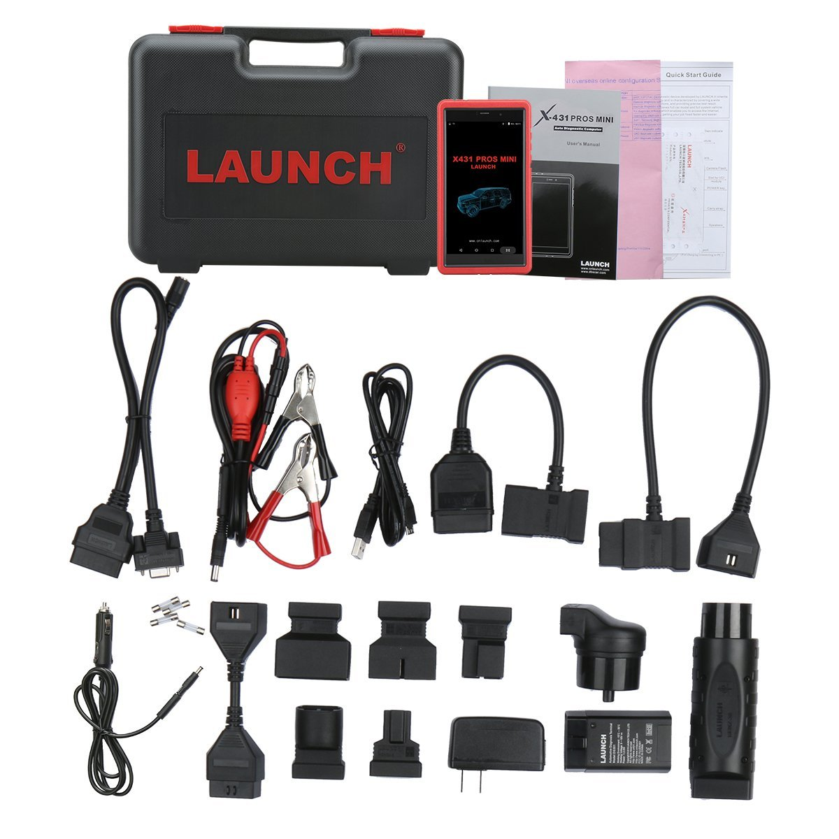 Launch X431 PROS Mini自動車診断ツール OBD2スキャナーコードリーダー Wifiとbluetooth接続+1年間無料アップデート