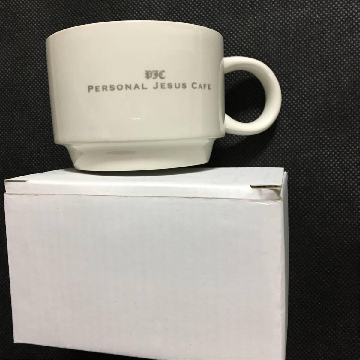 新品 未使用 氷室京介 スープカップ SOUP MAG CUP Personal Jesus Cafe PJC マグカップ