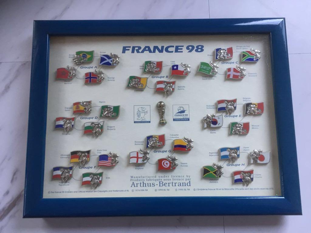 FRANCE 98 ワールドカップ フランス大会 ピンバッチ