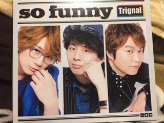 Trignal CD+DVD【so funny】初回豪華盤 代永翼メッセージカード付