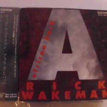 リック・ウェイクマン/アフリカン・バッハ(Rick Wakeman、イエス、Yes)