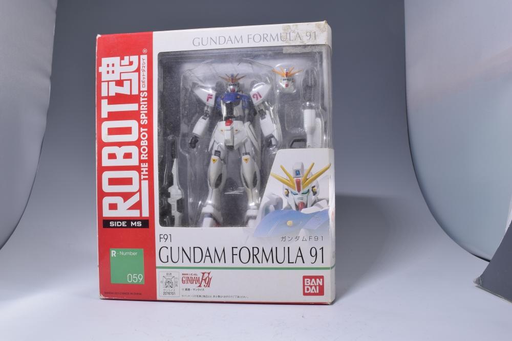 ROBOT魂 ガンダムF91 ※パッケージ痛み大ジャンク品
