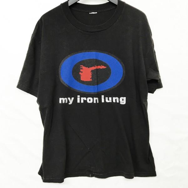ヴィンテージ 初期デザイン RADIOHEAD Tシャツ(検索 レディオヘッド トムヨーク atoms for peace oasis blur bjork 好きに)