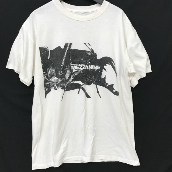 90s massive attack ツアー Tシャツ(検索 マッシブアタック メザニーン mezzanine ブリストル wildbunch kiyonaga&co gimme5 好きに)