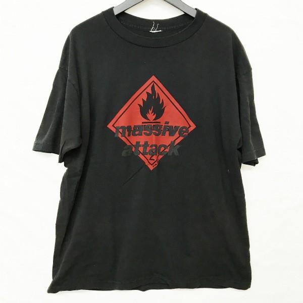 90s massive attack Tシャツ(検索 マッシブアタック blue lines 1st wildbunch kiyonaga&co 同デザイン gimme5 soph好きに