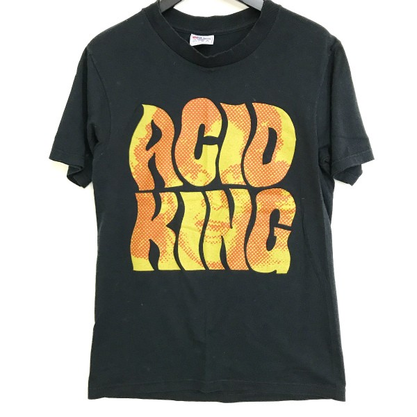90s USA製 ACID KING Tシャツ(検索 アシッドキング nirvana subpop dinosaur sonicyouth mudhoney flaming lips好きに