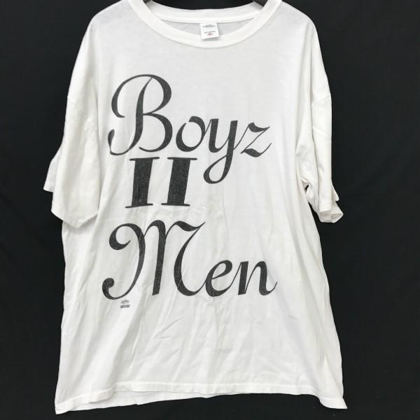 ヴィンテージ Boyz II Men Tシャツ(検索 winterland コピーライトあり R&B インディソウル マイナー raptees 好きに)